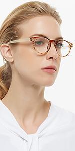 OCCI CHIARI Women's reading glasses round readers