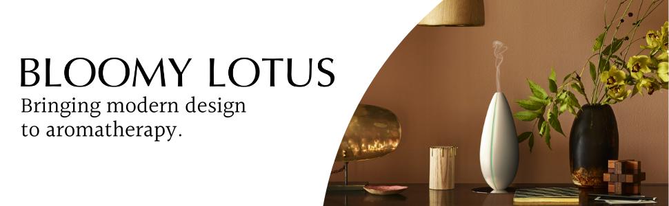 Bloomy Lotus Modern Diffusers Home Decor Aromatherapy