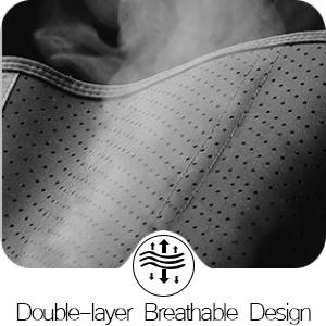 Double-layer Breathable Design