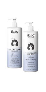 ikoo Don't Apologize, Volumize Shampoo and Conditioner