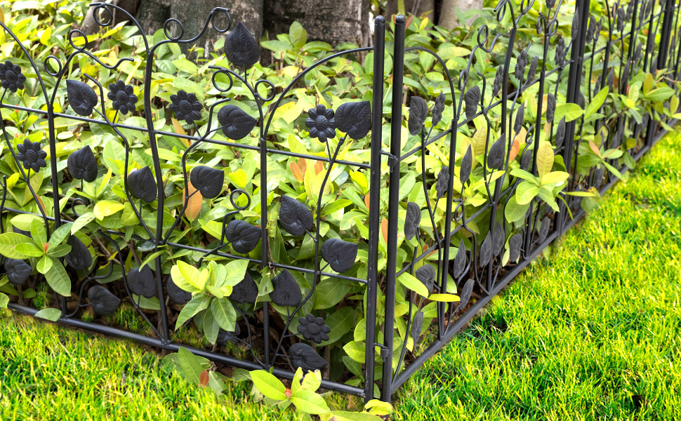 lawn garden fence