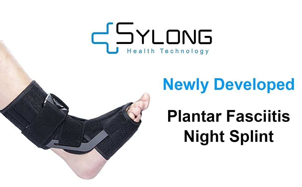 plantar fasciitis night brace splint by sylong