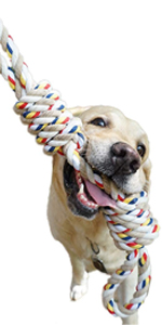 dog toys for large dogs tug of war