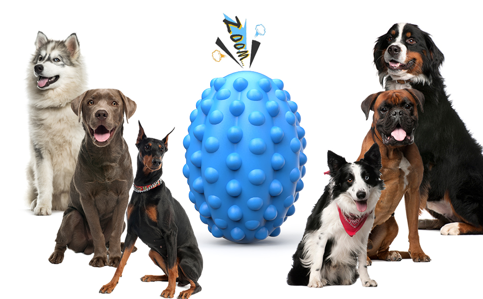 Pefent Large Dog Toys for Aggressive Chewers