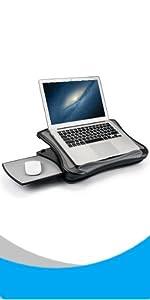 adjustable laptop lap desk with usb fan