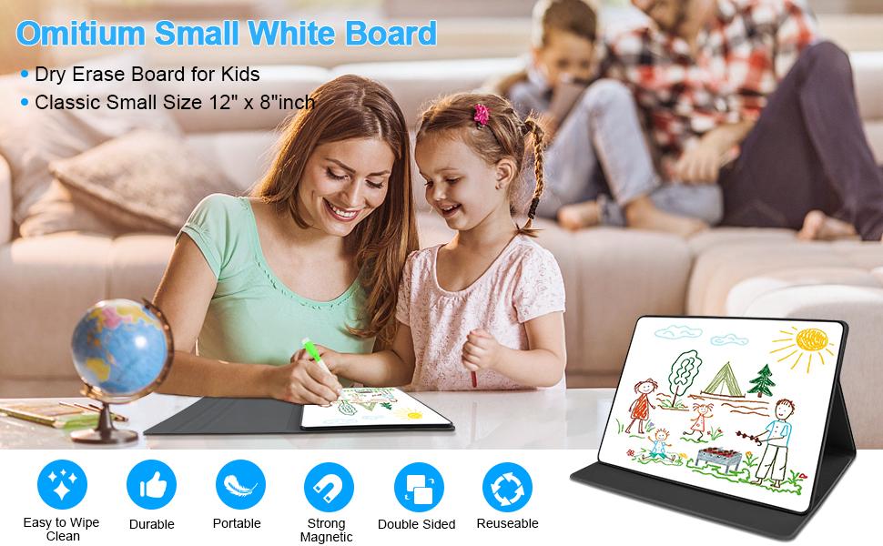 small white board