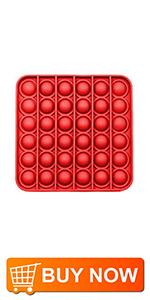 Fidget Toys-Square Red