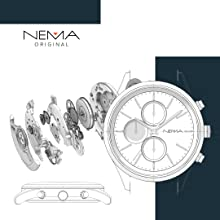 NEMA wood watch gift