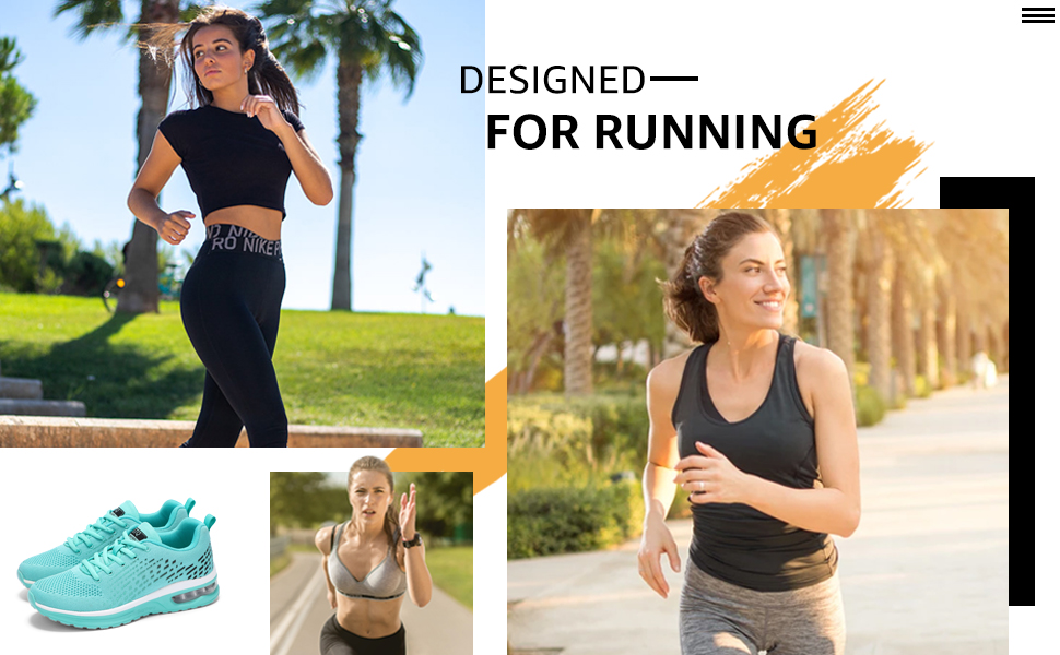 ladies running trainers