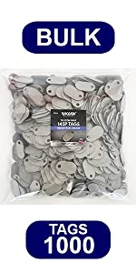 WAXAW Industrial American Made Consumable products 145P PTags telecom gray grey