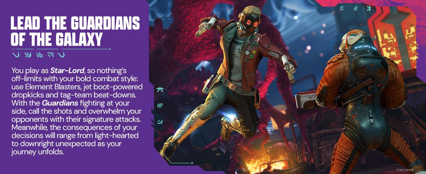 GotG; Guardians; Action; Adventure; Story Driven; Star-Lord; Gamora; Drax; Rocket; Groot; Marvel;