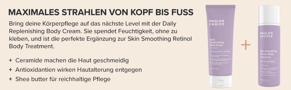 kopf fuss body cream lotion moisturizer hydration feuchtigkeit ceramide shea butter karite korper pc