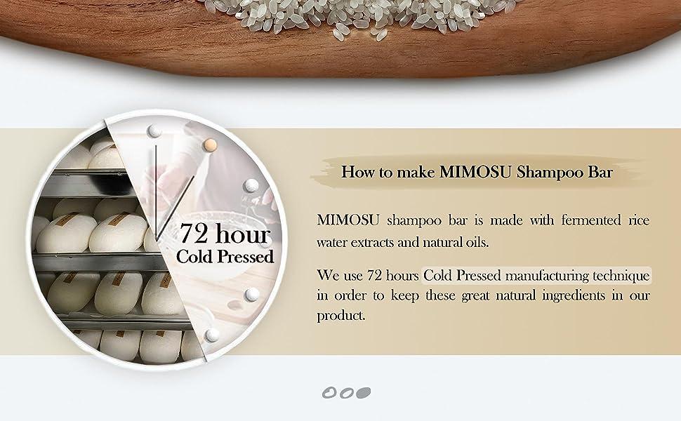 How to make MIMOSU shampoo bar