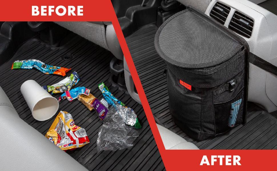 Lusso Gear Car Trash Bin