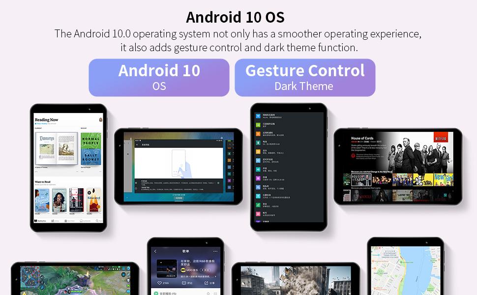 tablets 8 inch wifi 5G gps
