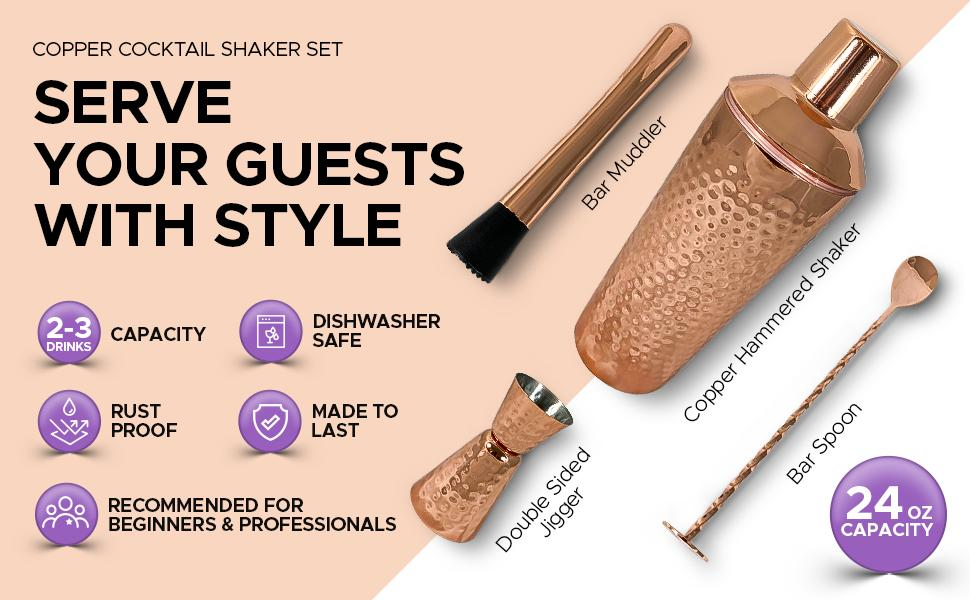 serve your guest with style