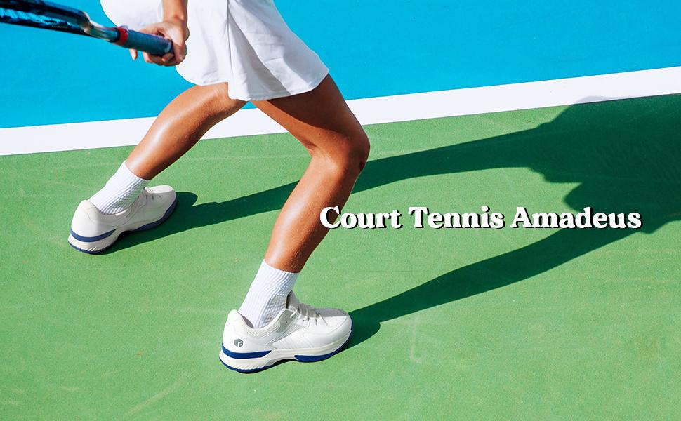 FitVille Court Tennis Amadeus Sports Shoes