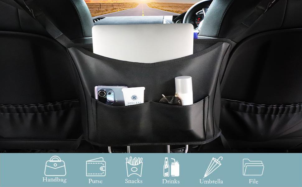 car handbag holder between seats