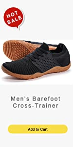 Menamp;#39;s Barefoot Cross-Trainer