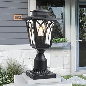 post lights outdoor