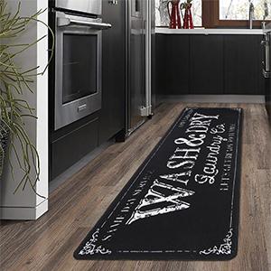 Durable Kitchen Floor Mat Non Slip Runner Rug for Laundry Room