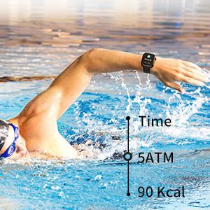 Wasserdicht Fitnessuhr