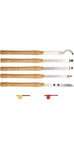 新品 AT05 Carbide Tipped Wood Turning tools Lathe set