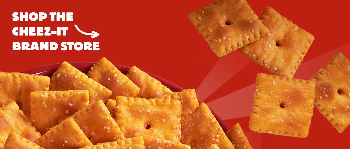 Cheez-It with sun rays