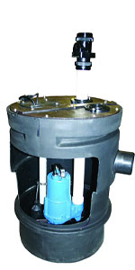 Barnes PitPro 20 by 30 inch Packaged Sewage Pump System
