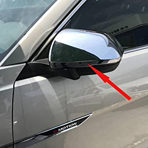 Rqing For Volkswagen VW Atlas 2018 2019 2020 Chrome Rear View Mirror Cover Trims