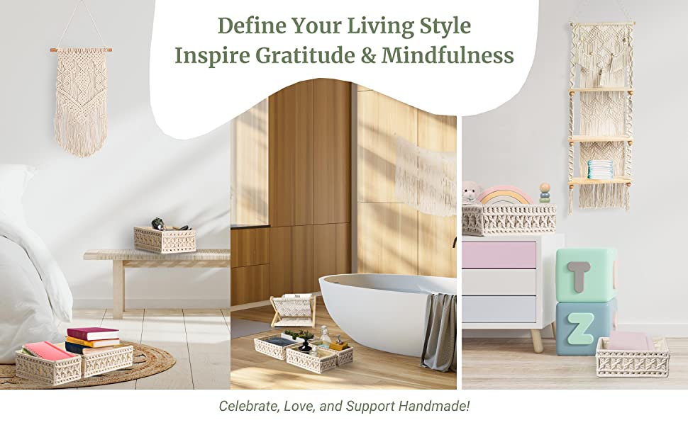 Define your living style . Inspire gratitude amp; mindfulness