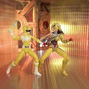 Lightning Collection Yellow Ranger vs. Scorpina 2-Pack