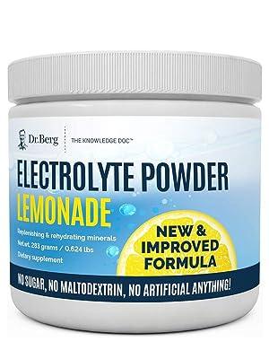 Dr Bergs Electrolyte Lemonade Plus