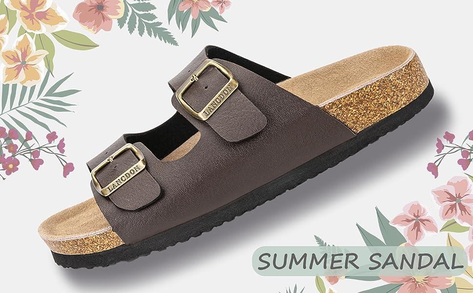 cork sandal for women