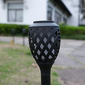 Flame Solar Torch Light8