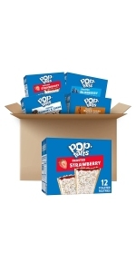 Pop-Tarts Toaster Pastries, 5 Flavor Variety Pack, 5 Boxes (60 Pop-Tarts)