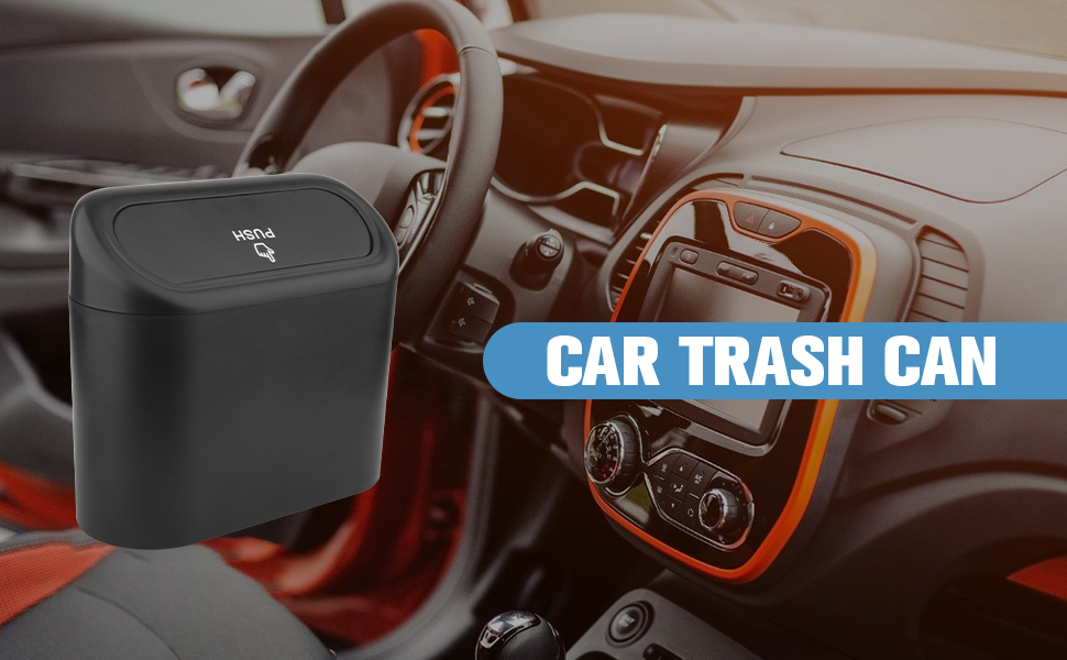 car trash can for women