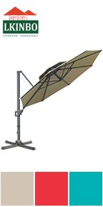 11FT Umbrella Khaki