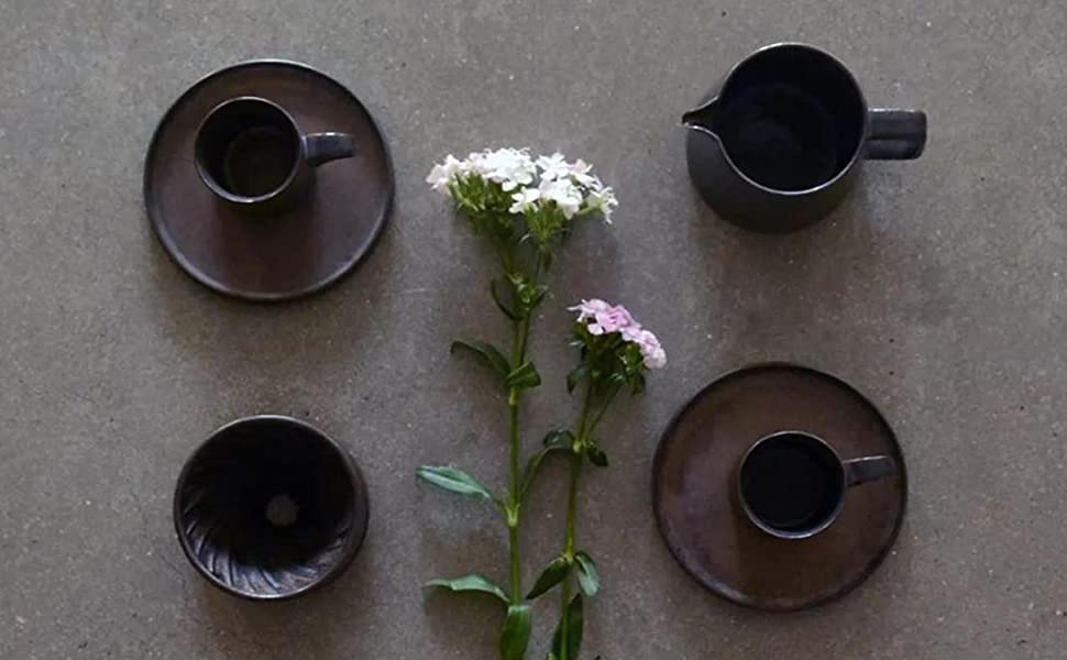 retro coffee maker ceramic