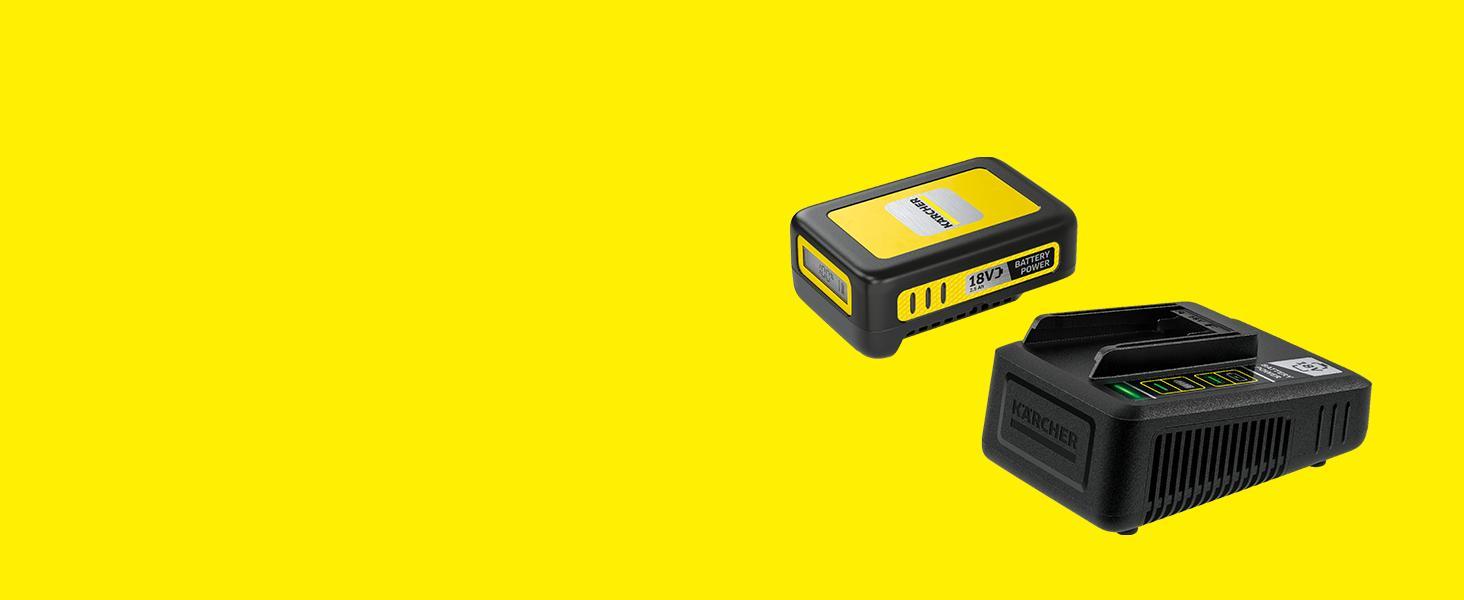 Kit básico: 18 V/2,5 Ah batería y cargador rápido