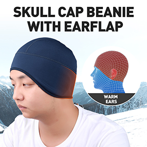 skull cap for cycling