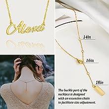 Necklace size