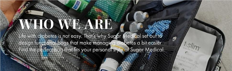 Sugar Medical Diabetic Diabetes Supply Case