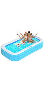 2.4m swimming pool