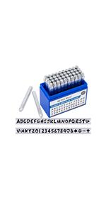 letter number stamps