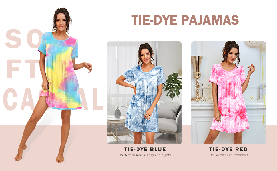 sexy nightshirt womens soft comfy satin silky sleepshirts comfy bamboo nightgowns