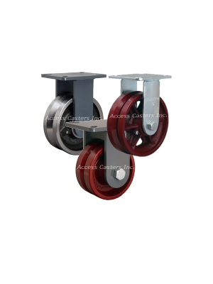 V-groove Casters