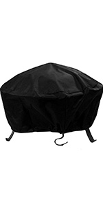 Sunnydaze Weather Resistant Round Fire Pit Cover