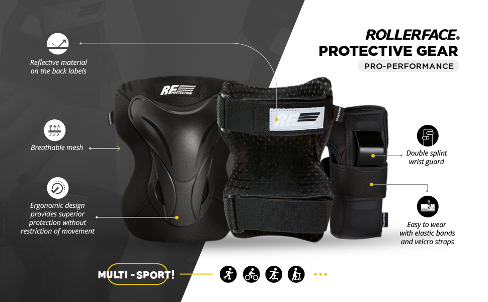 Rollerface Protection Gear Pro