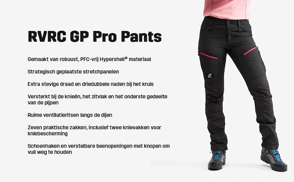 RevolutionRace Pro Pants Broek dames in de kleur Grey/Pink